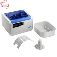 1PC CE 6200A Ultrasonic Cleaning Machine 1.4L Glasses Strap Jewelry Household Ultrasonic Cleaner Machine 220V 70W