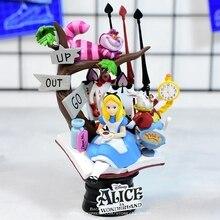Disney Alice im Wunderland prinzessin 16cm Action Figur Anime Mini Dekoration PVC Sammlung Figur Spielzeug modell für kinder geschenk