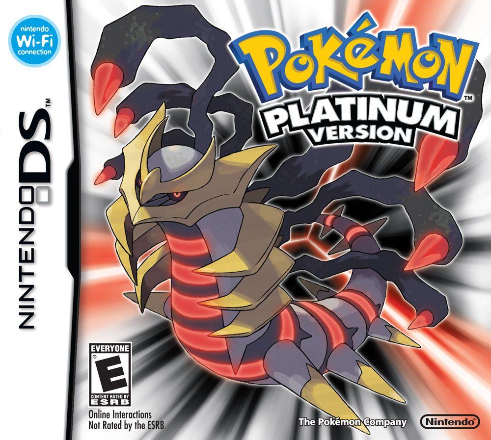 Pokemon Platinum Series NDSL GB GBC GBM GBA SP Video Game Cartridge Console Card Classic Game Version English Language