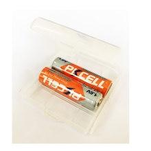2 sztuk PKCELL aa NIZHI akumulator nizhi AA 2500mWh nizn 1.6 V pakiety z 1 przezroczysty pojemnik na baterie dla przechowywanie baterii
