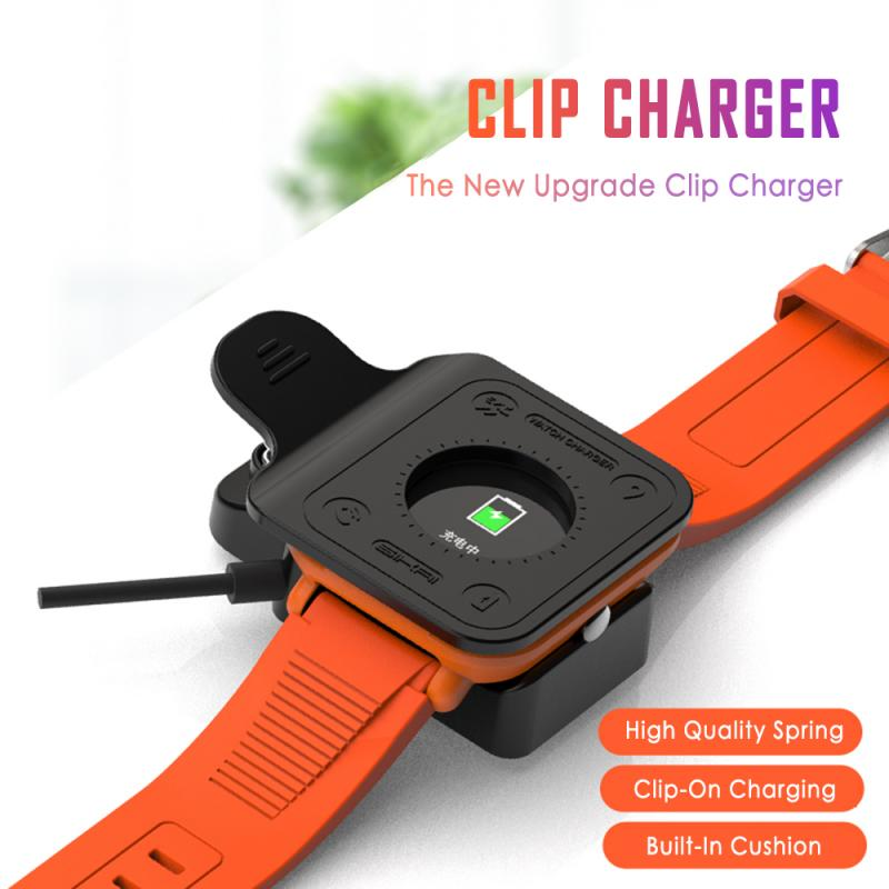 Replacement USB Magnetic Charger For Xiaomi Huami Amazfit Bip Youth A1608 Model Smartwatch Chargers Fast Charging Cable Cradle