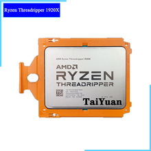 CPU Processor Threadripper 1920x3.5 Amd Ryzen Socket Tr4 12-Core Cooler Ghz New YD192XA8UC9AE