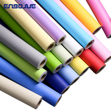 60CM Self adhesive Matte Wall Paper Waterproof PVC Dormitory Bedroom Solid Color Office Wall Stickers DIY Kids Room Wallpaper