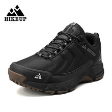HIKEUP-zapatos de senderismo de verano para hombre, zapatillas de Trekking de malla transpirable, para montaña, escalada, Trail, trotar, exterior