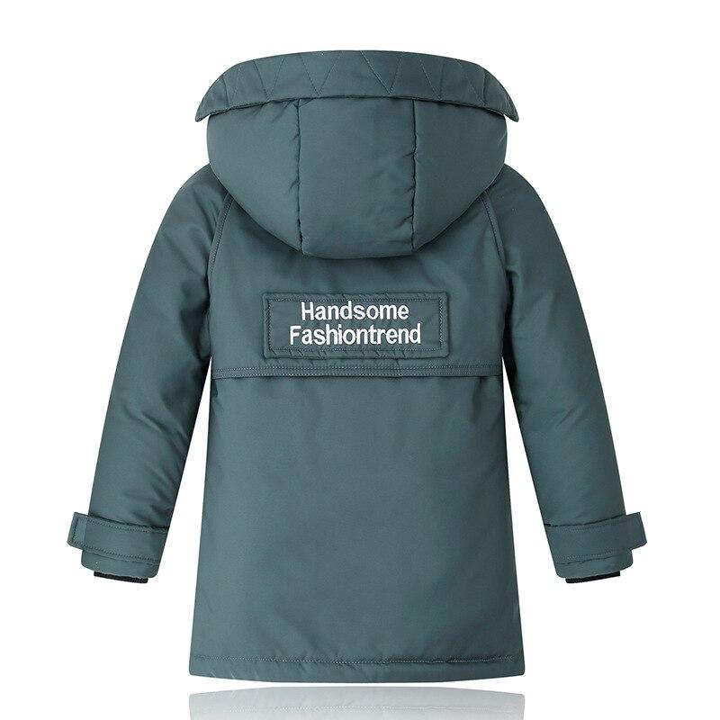 quente com capuz casacos longos para meninos 05