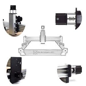 Image 3 - 40 × 40 インチ Workbee CNC ルーターマシンキット 4 軸木金属彫刻フライス機と 175 オンス * nema23 でステッピングモータ