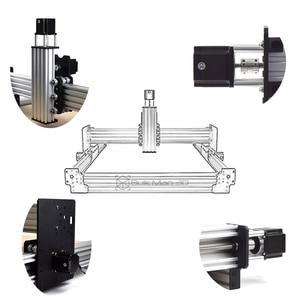 Image 3 - 40x40 אינץ Workbee CNC נתב מכונת ערכת 4 ציר עץ מתכת חריטת כרסום מכונת עם 175 oz * ב Nema23 מנועים צעד