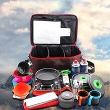 Походная сумка для пикника походная переносная сумка для хранения продуктов дикая посуда для пикника набор посуды для отдыха