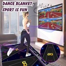 Double User Dance-Mats Non-Slip Dancer-Step Pads Sense Game English For PC TV