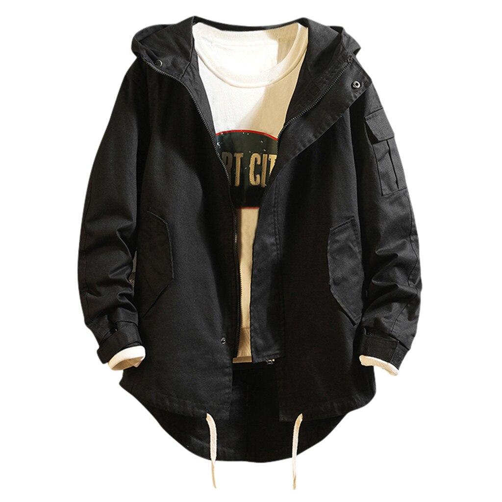 H53f4d84a45c347bf9a7e04a9b053a78eJ - Casual Tops Plus Size  Fashion Fashion Men's Autumn Winter Solid Casual Long Sleeve Jacket Coat  wo man