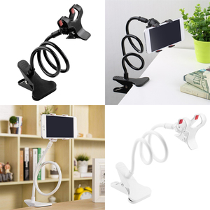Mobile Phone Lazy Holder Adjustable Cell Phone Clip Desk Stand Home Kitchen Bed Sofa Mount Bracket for Android IOS Smartphones