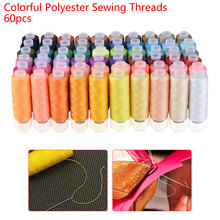 250 Yards Machine Embroidery Thread 6x1cm Colorful 60pcs DIY Sewing Thread Kit Thread Sewing Supplies Hand Sewing Machine Sewing