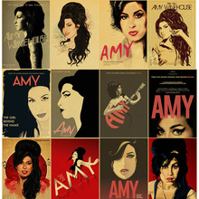 Music Singer Amy Winehouse Diamond Painting Poster Style 5D DIY Embroidery Retro Home Decor Wall Art