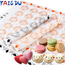 Silicone Baking Mat Fondant Bakeware Macaron Oven Home Non Stick Baking Tools For Cakes
