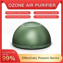GX·Diffuser Battery Alloy Air Cleaner Remove Formaldehyde Smoke Odor Ozone Generator Sterilization Fresh Air Purifier for Fridge
