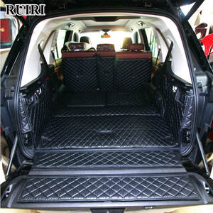 Trunk-Mats Cargo-Liner Full-Set Boot-Carpets for BMW Top-Quality X7 Waterproof G07 6-7-Seats