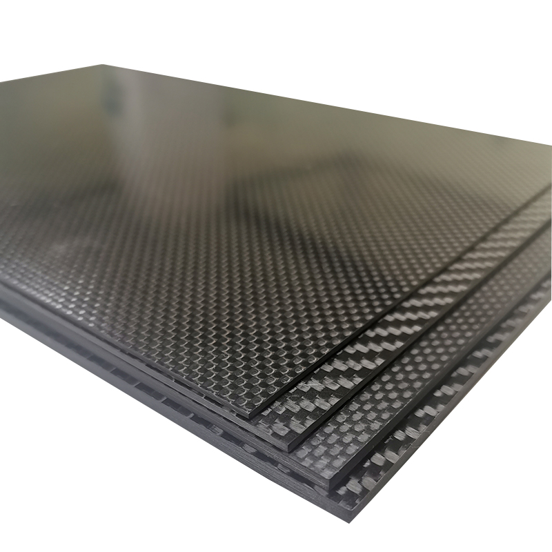 400mm X 200mm Real Carbon Fiber Plate Panel Sheets 0.5mm 1mm 1.5mm 2mm 3mm 4mm 5mm Thickness Composite Hardness Material For RC