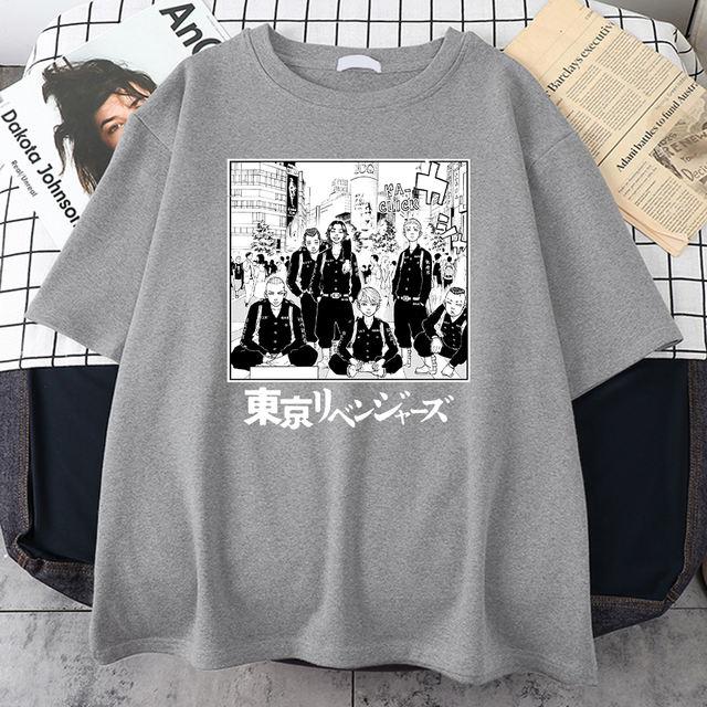 TOKYO REVENGERS THEMED T-SHIRT (8 VARIAN)