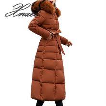 Xnxee 2019 New Arrival Fashion Slim Women Winter Jacket Cotton Padded Warm Thicken Ladies Coat Long Coats Parka Womens Jackets