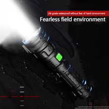 Super bright Rechargeable LED Flashlight Waterproof Torch 3 lighting modes Zoomable camping light With T6 LED led flashlight tourch ct1 super bright xml t6 led 1000 lumen waterproof zoomable flashlight 5 modes lights for camping fishing