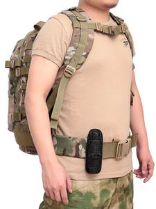 Holster-Torch-Case Rotatable-Flashlight Pouch Belt Hunting-Lighting-Accessory Tactical