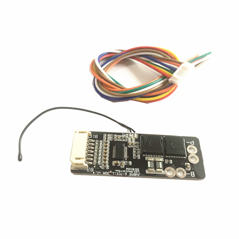 6S 30A BMS Board With NTC For  3.7V Ternary Lithium Battery Protection Board/BMS 7S