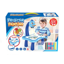 Desk-Toy Paint-Tools Projector Drawing-Table Educational Early-Learning Musical AC889