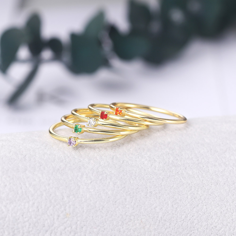 Anillos coreanos para mujeres joyas de Color dorado anillo de compromiso de boda venta al por mayor regalo de amor de chica femenina joyería de moda R246