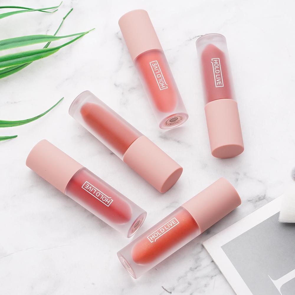 1pc HOLD LIVE Lipstick Lasting Moisturizing Not Decolorizing Matte Pepper Lipstick Trend Classic Color