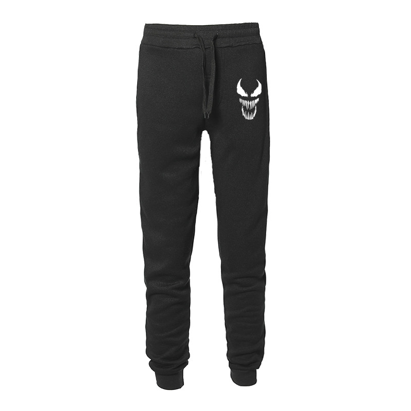 New Venom Pants Men High Quality Joggers Anime Sturdy Superhero Cool Men Pants Fitness Fleece Pants Men Jogger Trousers Sweat