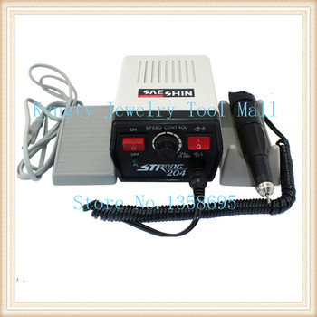jewellery making Dental Supplies STRONG 204 Mini Micromotor Polishing Machine for dental jewelry beauty nails