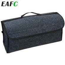 Auto Weichem Filz Lagerung Box Trunk Bag Fahrzeug Werkzeug Box Multi use Tools Organizer Tasche Teppich Falten für notfall box