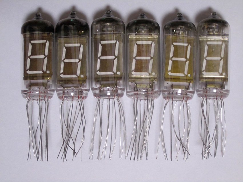 Free Shipping Make For IV-11 Fluorescent Tubes 6 Iv11 VFD Tubes New NIXIE TUBES Fluorescent Digital Tubes