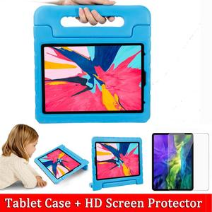 Kids Protective Stand Tablet Case For iPad Pro 11 2020 Case + Screen Protector EVA Shockproof Cover For iPad Pro 12 9 Case 2020(China)