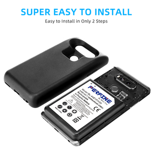 Image 3 - Аккумулятор V20 на 10500 мА · ч с защитным чехлом для LG V20 H990DS VS995 US996 LS997 H910 H918 bl 44e1f, расширенный аккумулятор