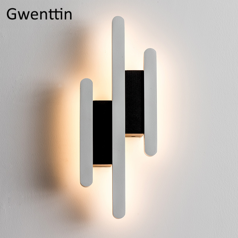 Nordic Wall Lamp Modern Wall Lights for Home Decor Led Mirror Light Bathroom Bedroom Lamp Stair Indoor Sconce Lighting Fixtures