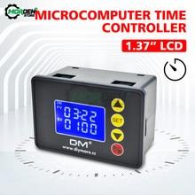 Relé temporizador programable, módulo de interruptor de retardo de ciclo de tiempo, CC de 12V, 24V, 20A, CA de 110V, 220V, 10A, Control de tiempo de encendido y apagado de 0a 9999 segundos
