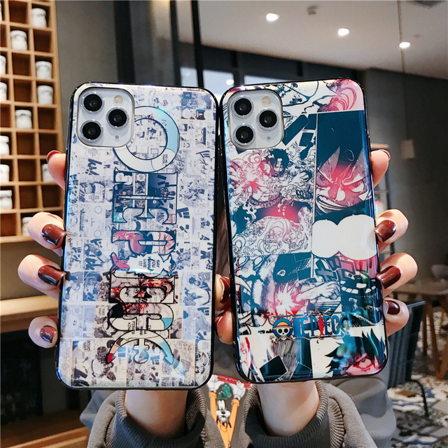3D ONE PIECE IPHONE CASE