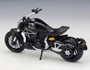 Image 3 - Bburago 1:18 Ducati XDiavel S Schwarz SuperMotor Modell Bikes druckguss Motorrad