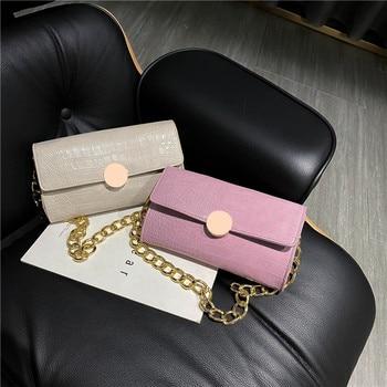 Women's Bag Retro Mini Bag All-match Chain Shoulder Bag Baguette Bag Armpit Bag Hand Carry Square Sling Bag