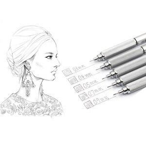 Image 5 - Japão uni lápis mecânico M5 1010 metal baixo centro de gravidade lápis estudante desenho esboço ativo chumbo 0.3/0.5/0.7/0.9mm