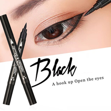 Sweatproof Waterproof Eyeliner Pencil Eye Makeup Double Head Black Quick Drying Stamp 1 Pcs