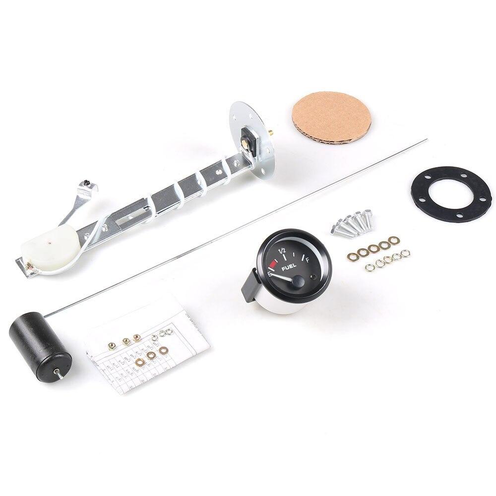 Датчик уровня топлива 2 дюйма для лодки Авто Грузовик RV светодиодный водонепроницаемый дисплей