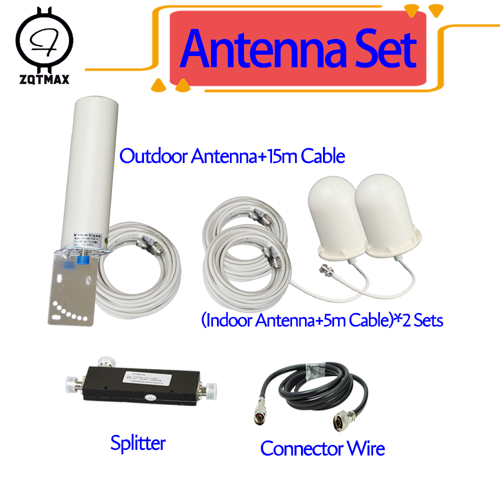 ZQTMAX 2g 3g 4g Antenna for cell phone signal booster 800 850 900 1800 1900 2100 2300 2600 CDMA GSM WCDMA PCS UMTS LTE Cellular