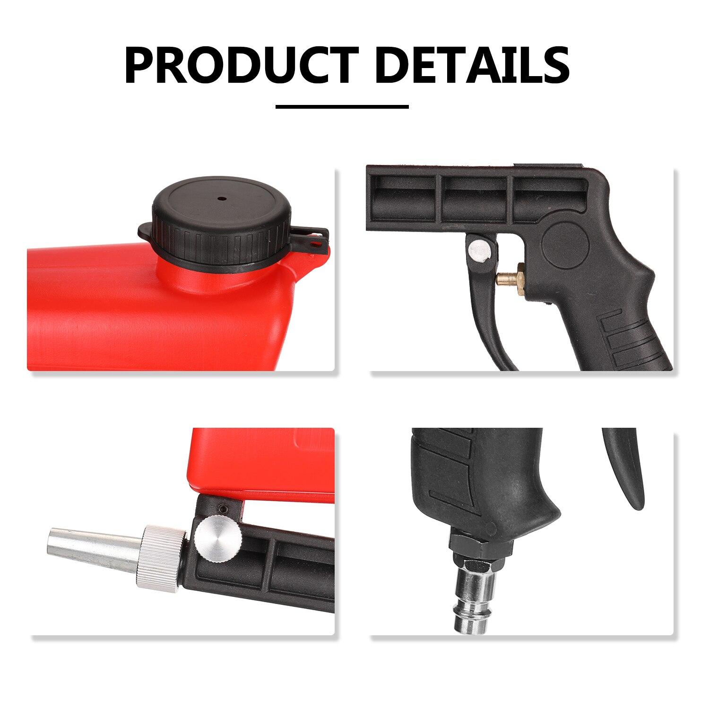 Portable Home DIY Mini Blasting Device 90psi Sandblaster Antirust Adjustable Sandblasting Machine