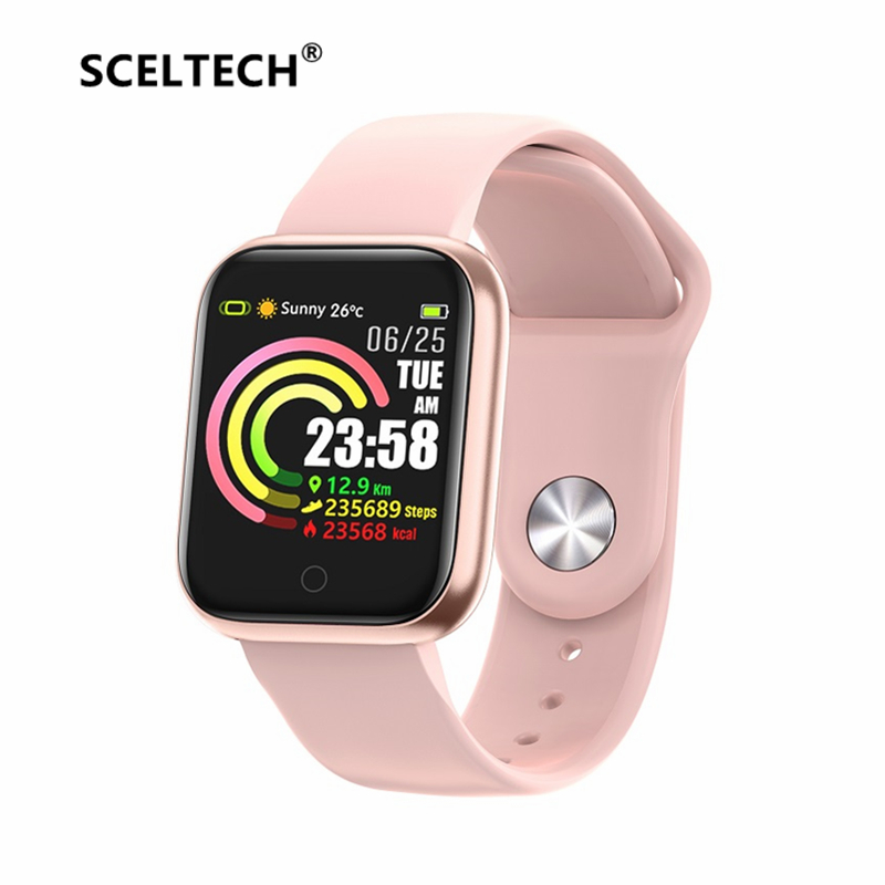 QW21 Smart Watch Women Men Fitness Tracker Band IP67 Waterproof Heart Rate Blood Pressure Monitor for Xiaomi Huawei iPhone|Smart Watches| |  - title=