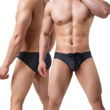 Men Swimming Trunks Sexy Swimwear Bathing Suits Mens Swim Briefs Swimsuit Beachw