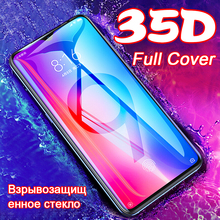 35D Tempered Glass for Xiaomi Mi 8 A2 A3 Lite 9 SE 9T Pro Protective Glass on For Redmi note 7 8 Pro Screen Protector Full film