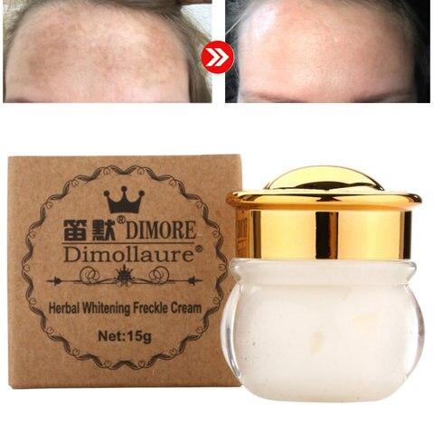 Dimollaure Strong Removal melasma whitening cream Freckle speckle sunburn Spots pigment Melanin scar removal face cream Dimore Pakistan