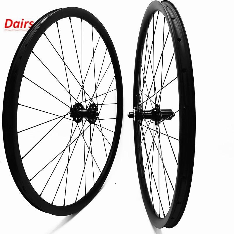 29er carbon mtb disc bike wheels 30x28mm hookless tubeless carbon wheels FASTace DA201 mtb disc wheelset 100x9 135x9 QR|Bicycle Wheel| |  - title=